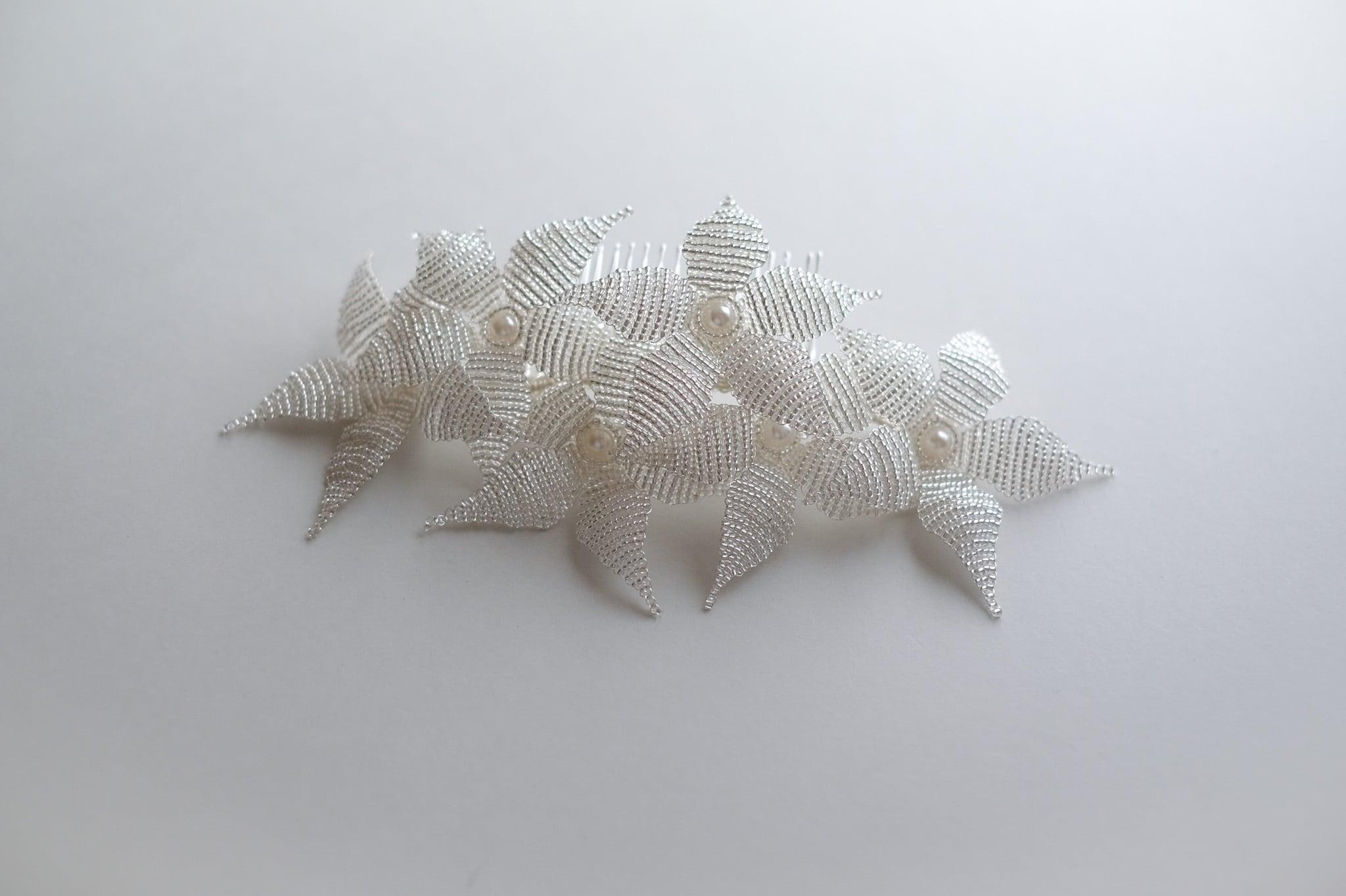 ブライダルヘッドドレス[HA-123]