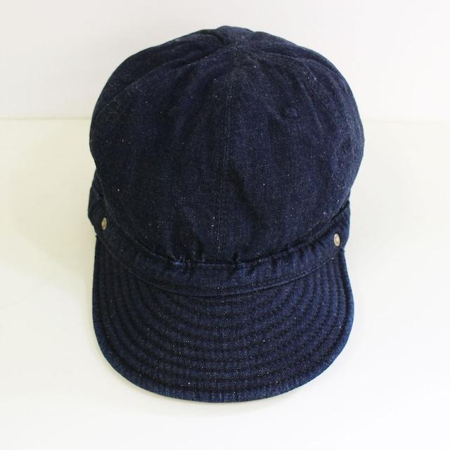 2020秋冬新定番 DECHO デコー KOME CAP 【STANDARD D-01】 ネップデニム コメキャップ   メンズ・レディース兼用 帽子
