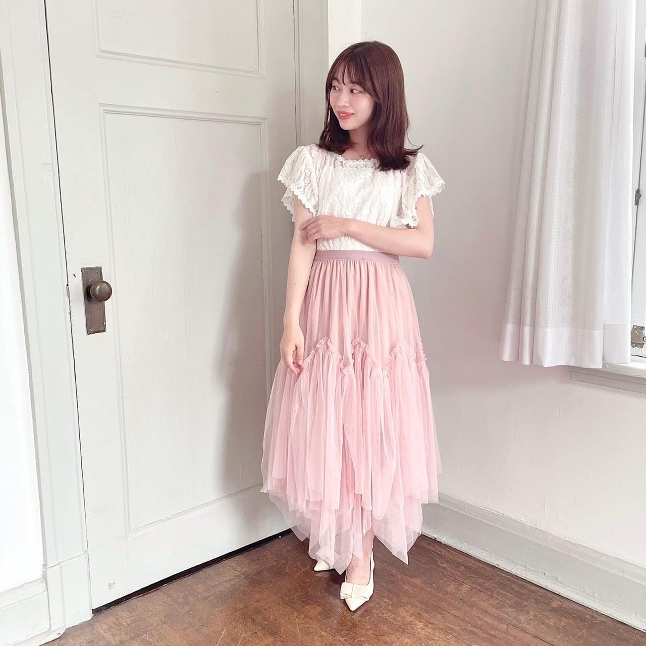 【Fluffy】イレヘムチュールスカート