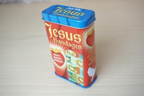 バンドエイド缶(JESUS) ※新品です!