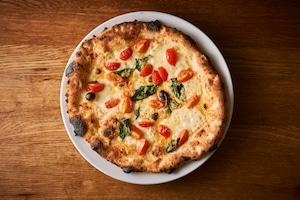 送料無料【PIZZA】小麦の旨味!プリンチペッサ3枚(モッツァレラチーズ・チェリートマト・バジル)【フライパンで温める冷凍ピッツァ 簡単ミールキット】