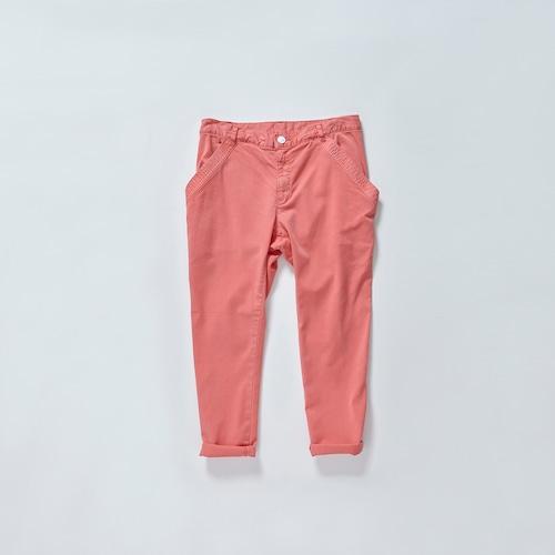 《cokitica 2016SS》 sarrouel denim U- pants / coral pink