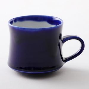 瑠璃釉cup  warped line