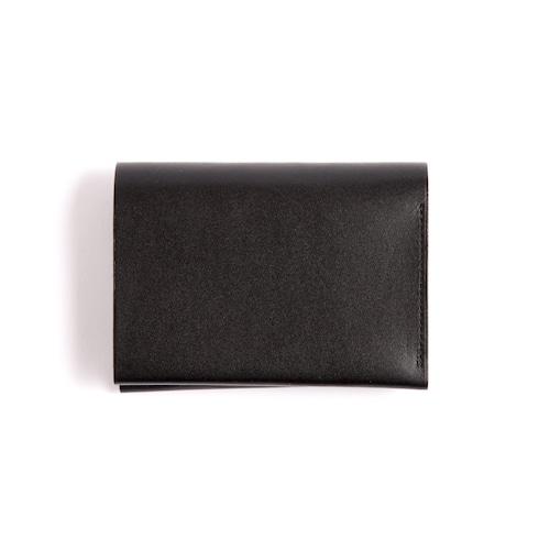 Postalco/Pressed Cotton Card & Coin Wallet/Black