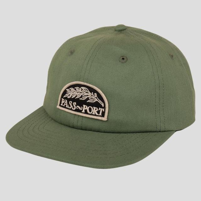 """PASS~PORT """"QUILL"""" CAP SAGE GREEN"""