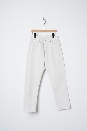 5P ANKLE DENIM white/OM-P110OW