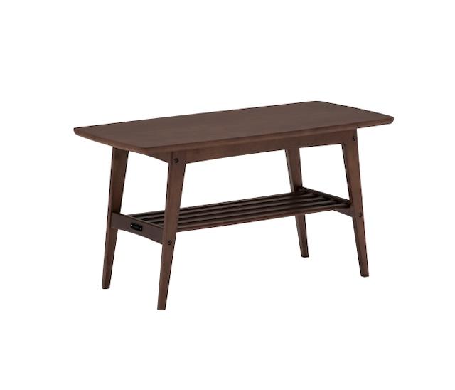 【カリモク60】リビングテーブル小 モカブラウン