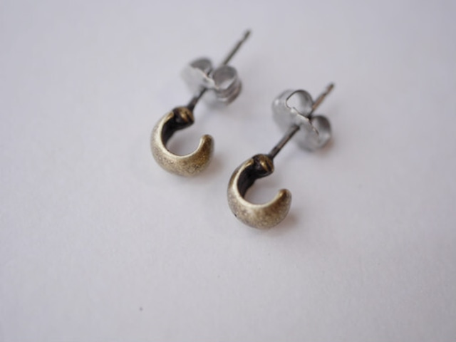 【nity】select11 チタンピアス beans_antiquegold