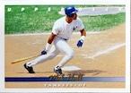 MLBカード 93UPPERDECK Mel Hall #291 YANKEES