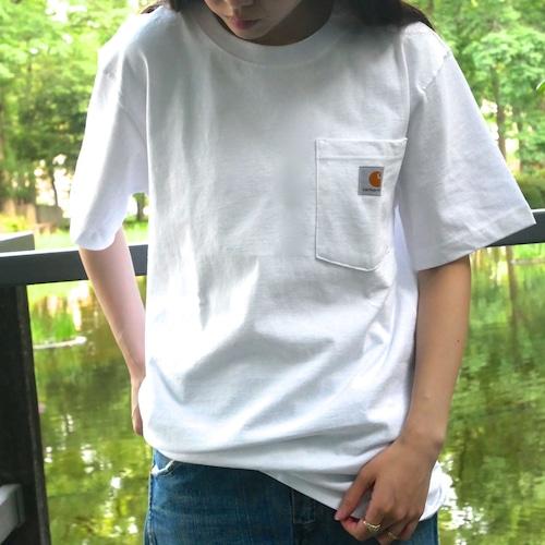 【NEW】Carhartt ホワイト ポケット Tシャツ S