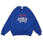 CHOPPERS WELCOME SWEAT/BLUE