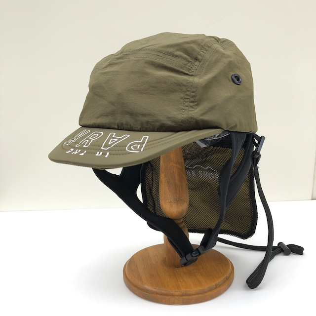 【21SS】THE PARK SHOP(ザ・パークショップ)EXPLOREBOY CAP (KIDS )olive キャップ 帽子