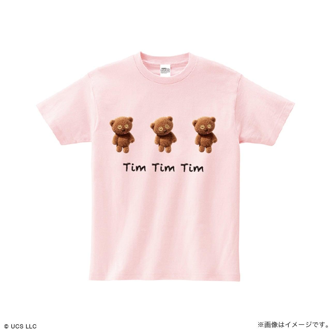 キッズTシャツ/ミニオン(Tim Tim Tim ピンク)【MINIONS POP UP STORE 限定】