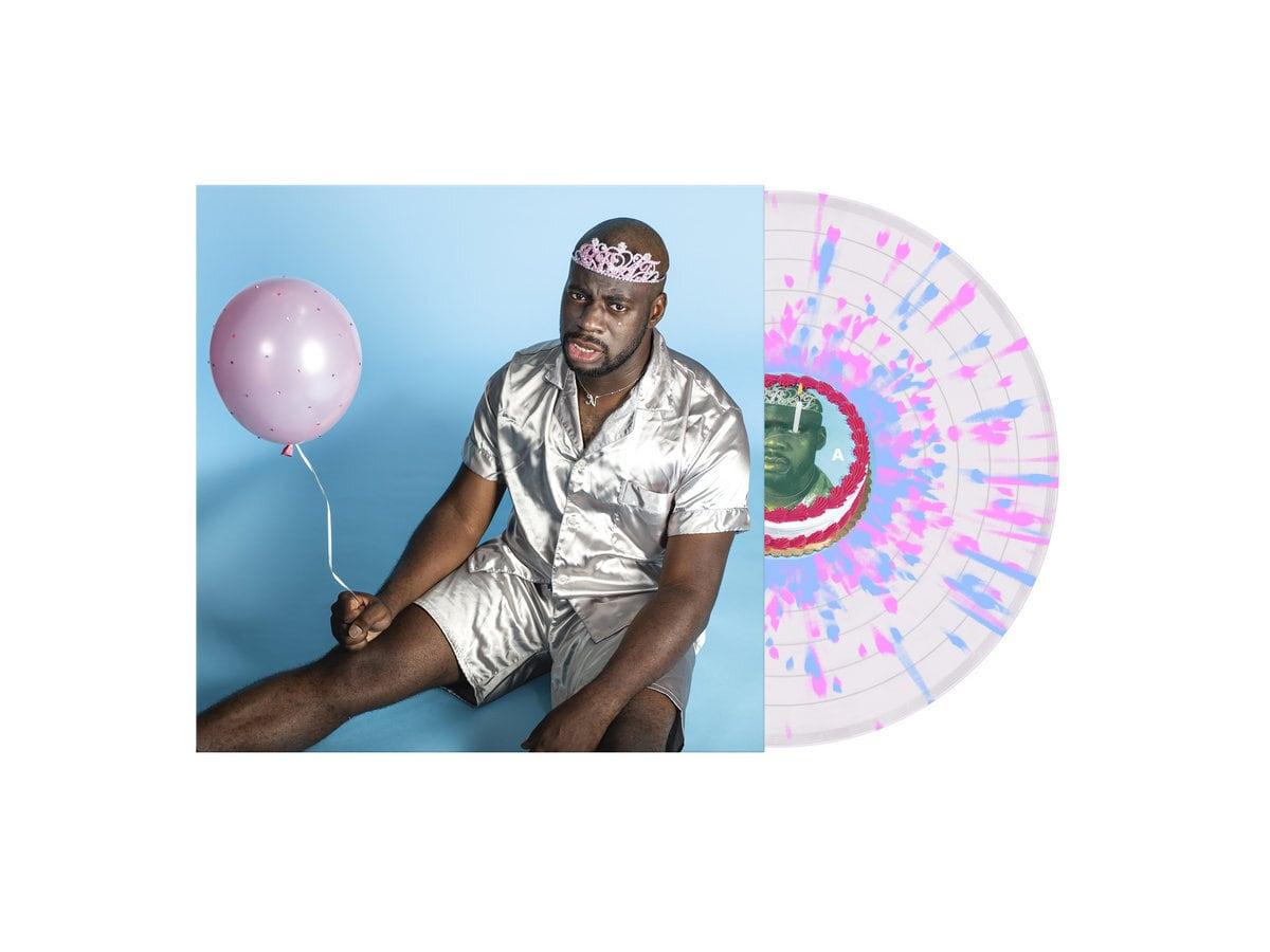 NNAMDÏ / BRAT(Clear Pink & Blue Splatter LP)