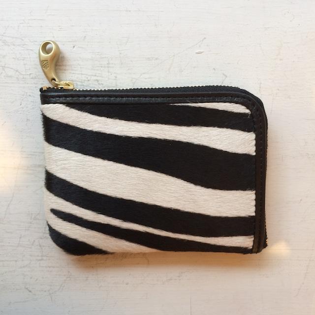 ゼブラ柄ミニ財布