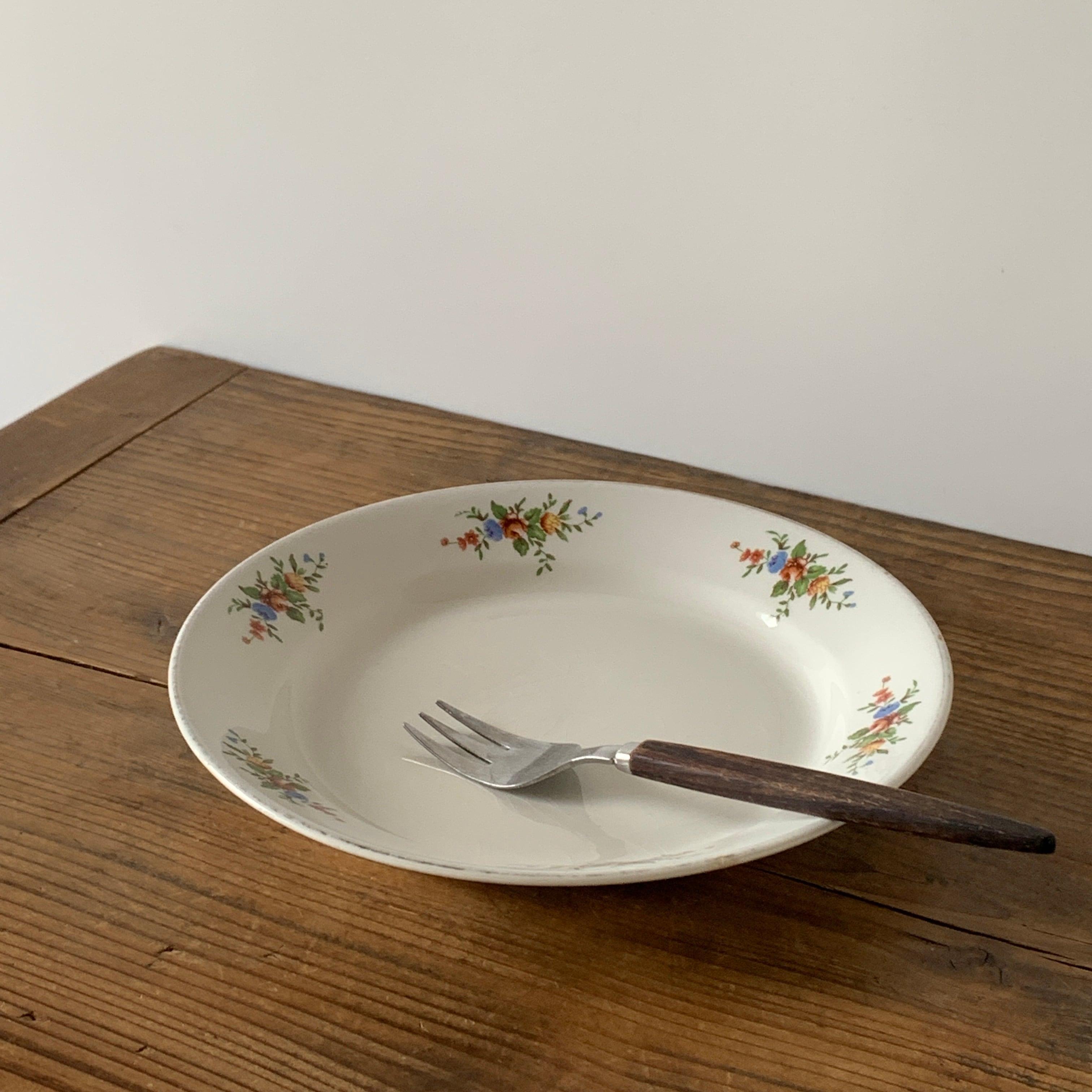 ARABIA / Plate[Bouquet]B ※貫入あり