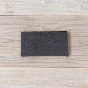香川漆器 讃岐石地塗角皿(小) 中田漆木