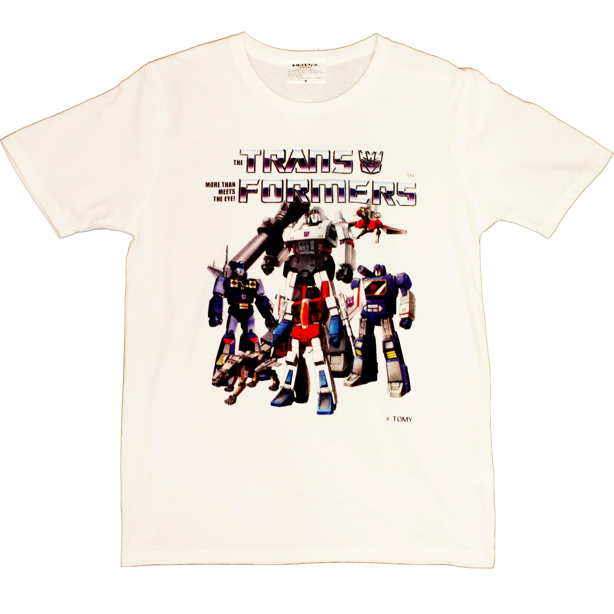 【トランスフォーマー】戦え!超ロボット生命体トランスフォーマー|チームデストロン Tシャツ