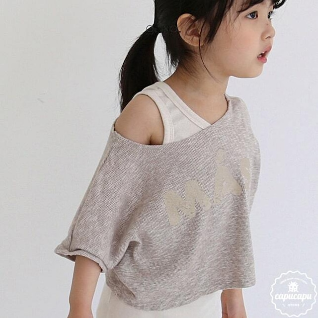 «sold out» guno mas crop T 2colors クロップドトップス