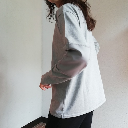 MEYAME (ELBOW PATCH LONG SLEEVE TEE)