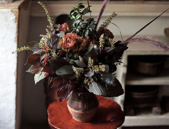 Black-chic Bouquet(秋のシックな花束)