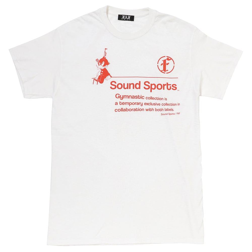 Practice uniform tee (FAFxSound Sports) / White - 画像1