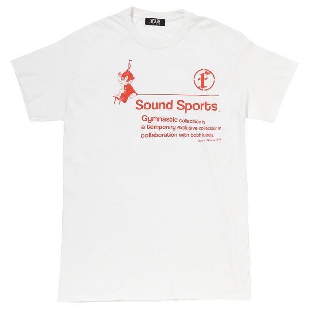 Practice uniform tee (FAFxSound Sports) / White - メイン画像