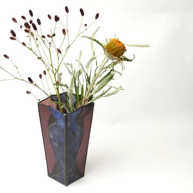 CLASSIC VASE ステンドグラス クラシック 花瓶デザイン ステンドガラス