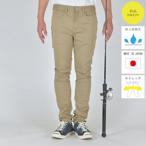 """""""The Colorful Angler""""  FISHING STRETCH COLOR PANTS BEIGE BW-104VMC"""