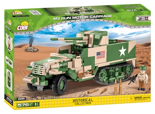 COBI #2535 M3 75mm 対戦車自走砲 (M3 GMC)
