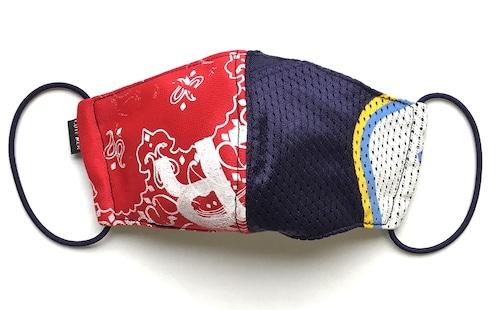 【デザイナーズマスク 吸水速乾COOLMAX使用 日本製】SPORTS × PAISLEY PRINT MASK CTMR 0915050