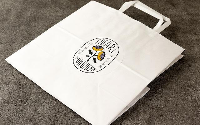 福寿家ロゴ入り紙袋