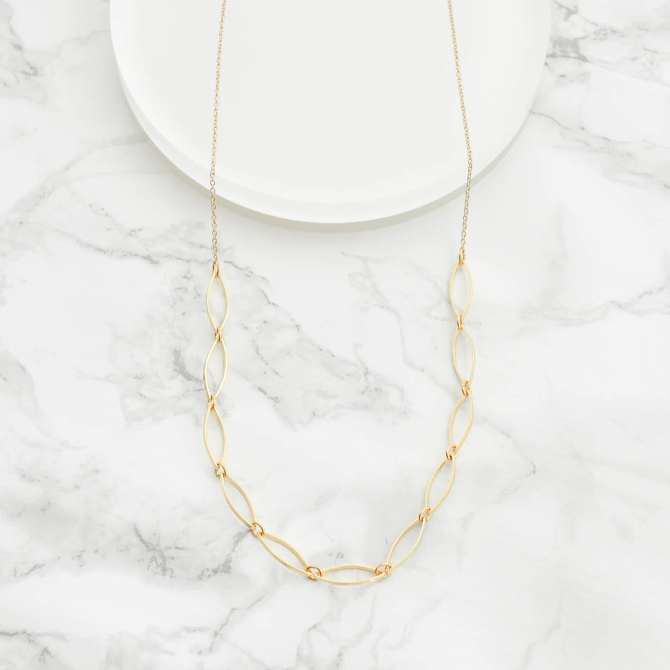 Marquis Necklace