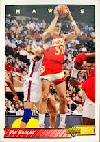 NBAカード 92-93UPPERDECK Jon Koncak #210 HAWKS