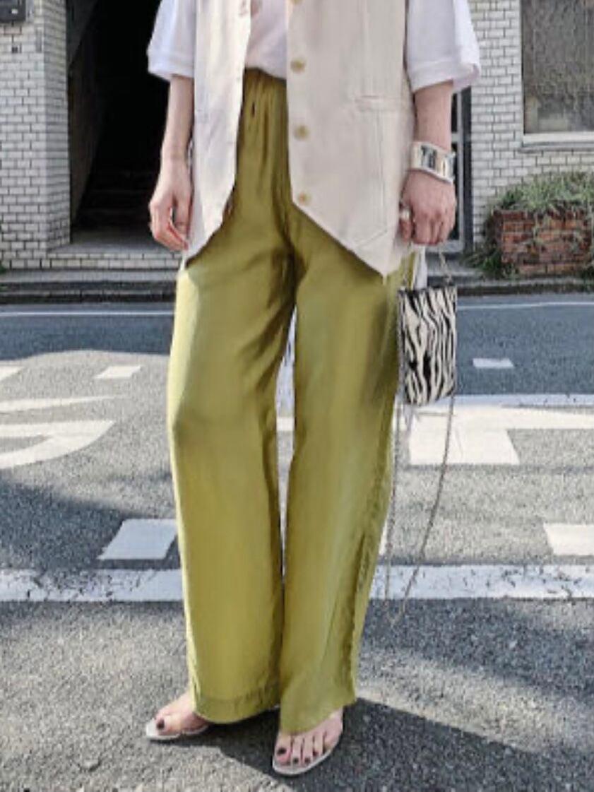 【PROVOKE】CUPRA EASY PANTS