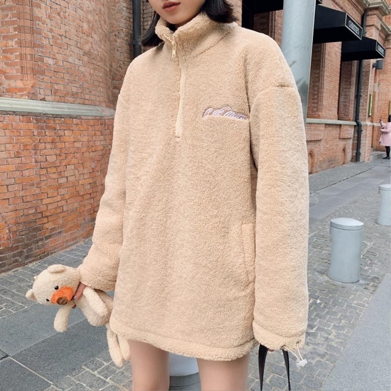 back bear knit