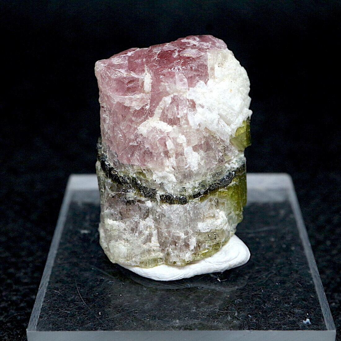 ピンク グリーン トルマリン カリフォルニア産 T185  7,2g 鉱物 天然石 原石 パワーストーン