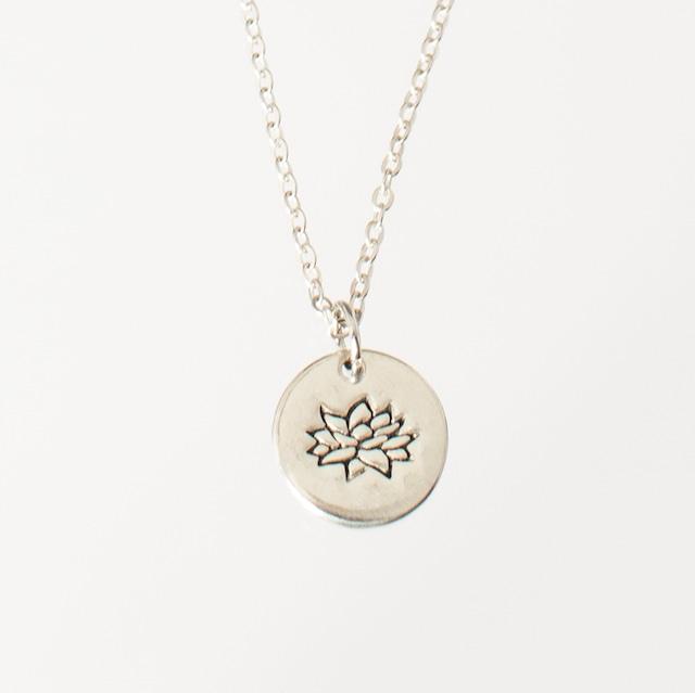 ネックレス 睡蓮鉢 Necklace Lotus in a pot