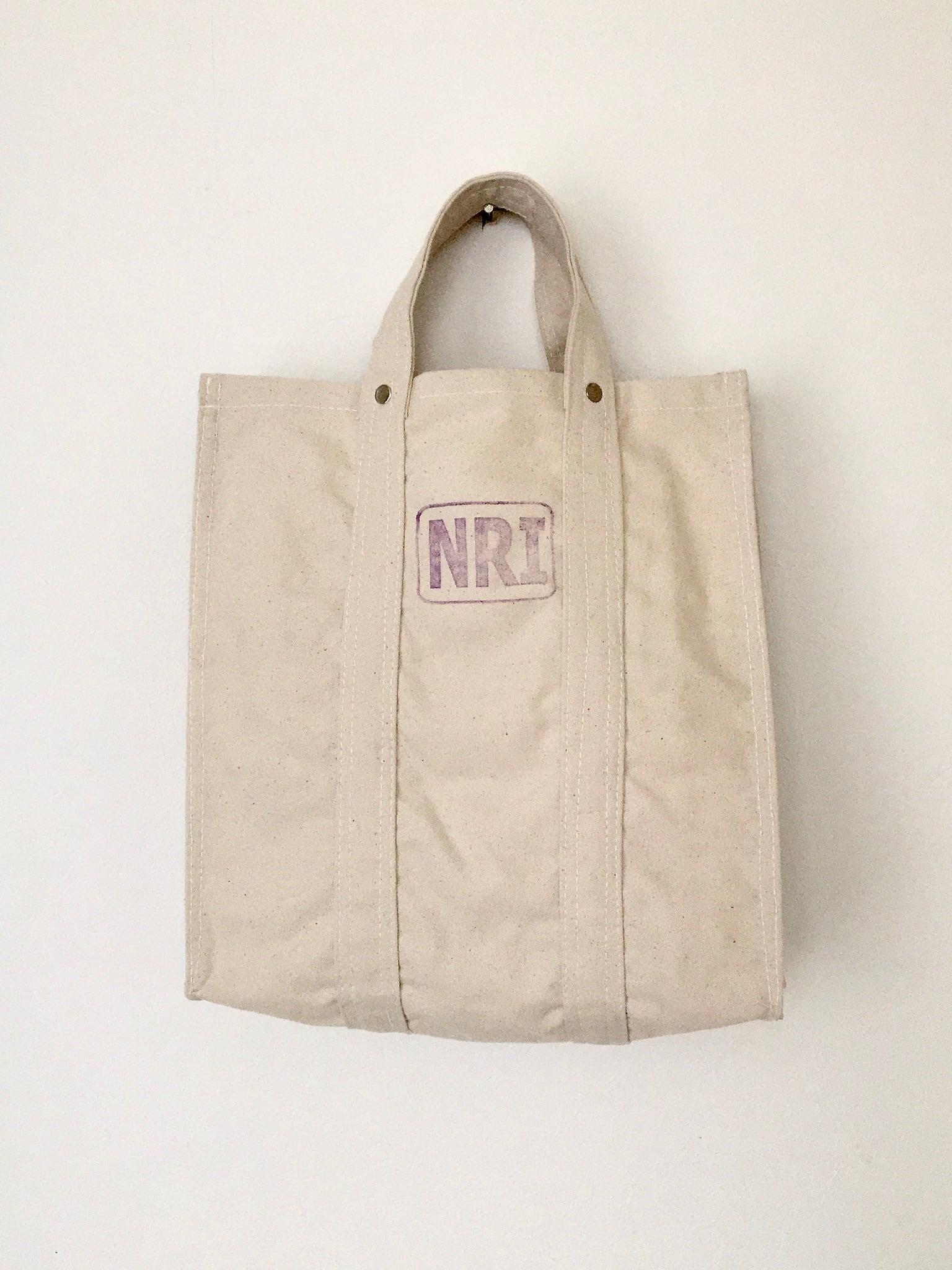 労働者のトートバッグ オフホワイト|Labour Tote Bag Off White(PUEBCO)