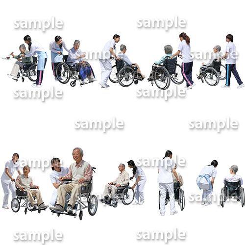 医療人物SketchUp素材10個 4p_set047 - 画像2