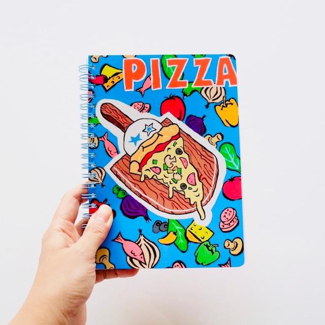 B6リングノート【シャベットpizza】