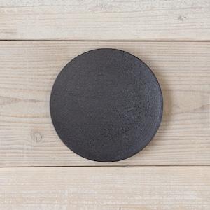 香川漆器 讃岐石地塗丸皿(小) 中田漆木【小皿・取り皿】