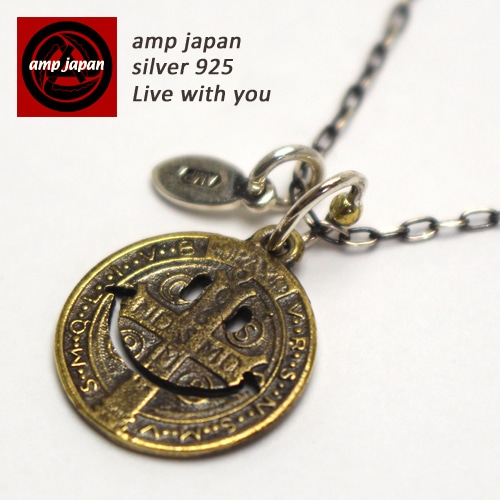 AMP JAPAN/アンプジャパン   真鍮スマイルネックレス ニコちゃん 『Smile』 11ad-890