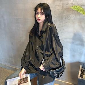 【トップス】長袖ファッションプリントシャツ42912430