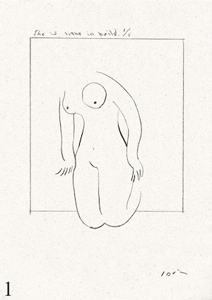A4 poster / nude series