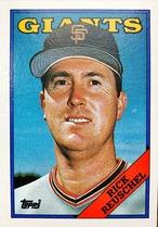 MLBカード 88TOPPS Rick Reuschel #660 GIANTS