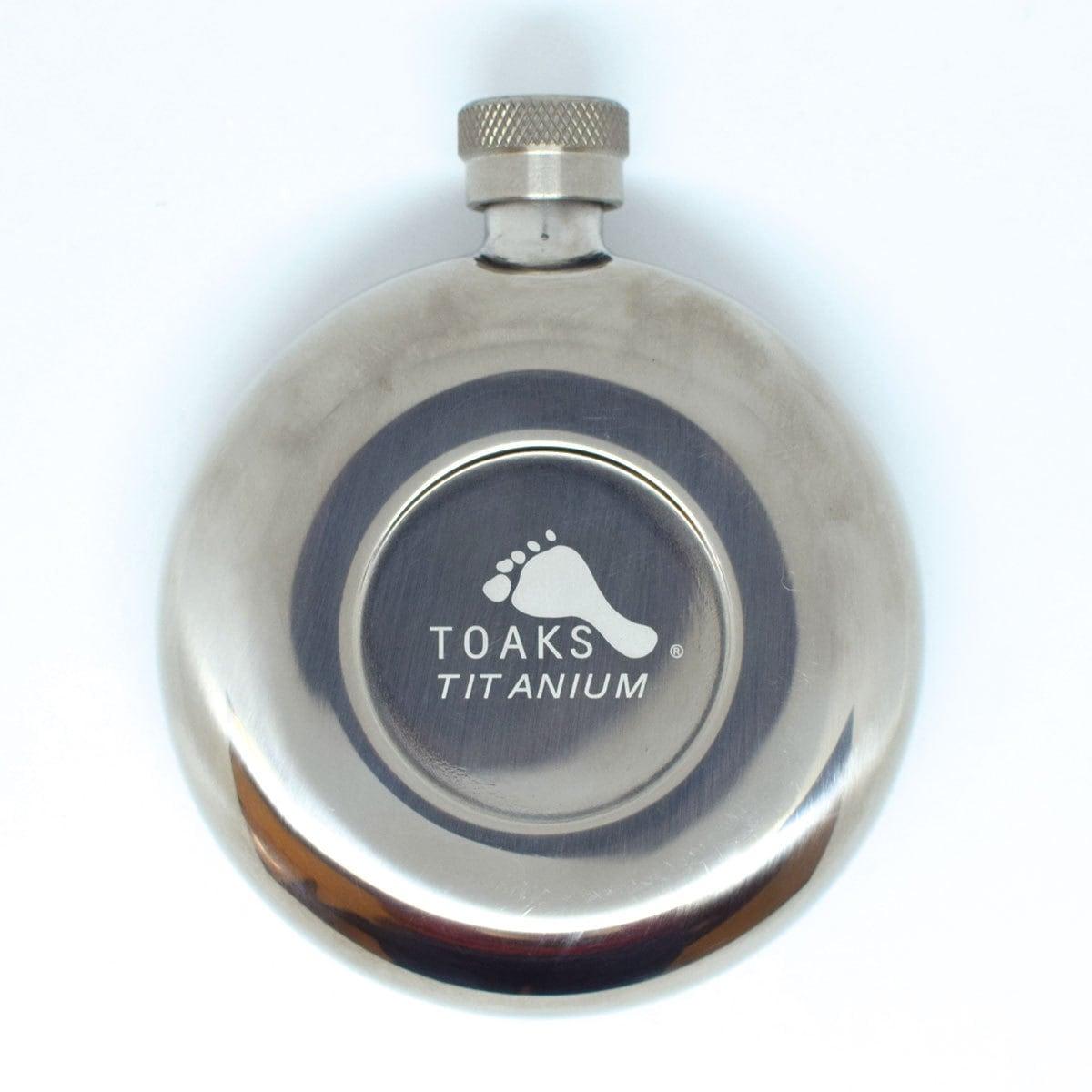 TOAKS TITANIUM FLASK 150 トークス チタンフラスク
