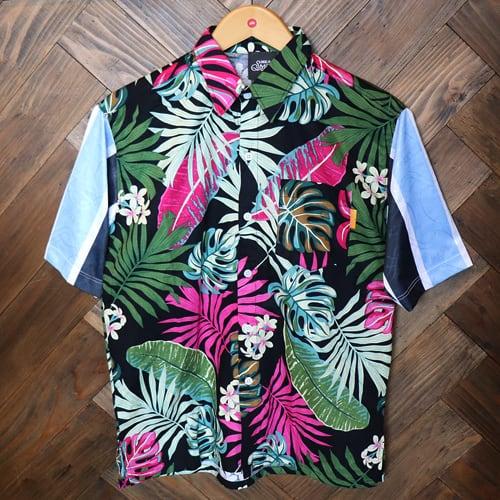 リメイクアロハシャツ 半袖 / グレミオ   SINE METU