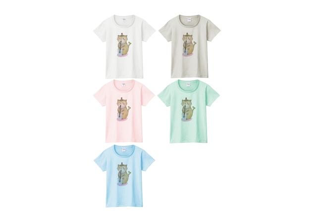 オーボエ猫のTシャツ