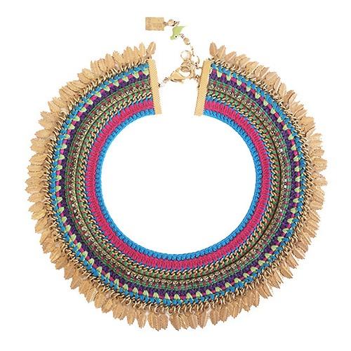 Maya-Bazaar ノマド チョーカー Multi Color
